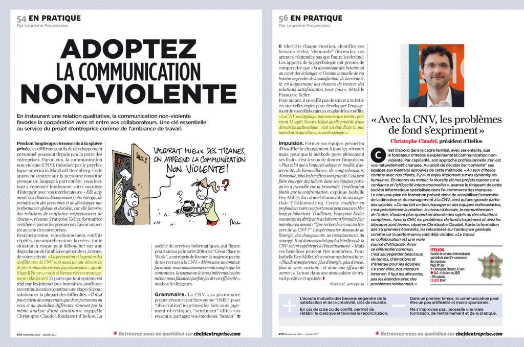 ARTICLE Chef d'entreprise communication non violente Noaro Consulting